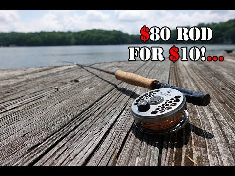 How To Get A $150 Fly Rod Setup For $20!...