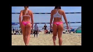 Пляжный волейбол.Женщины:)