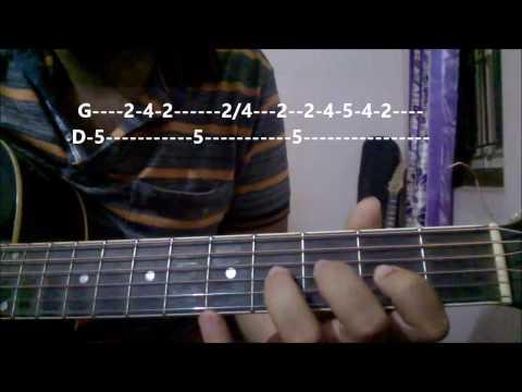 Nashe Si Chadh Gayi Guitar Lesson  Tabs   Arijit Singh   Befikre