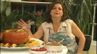 Thanksgiving Stuffed Pumpkin- Ieat Green With Bhavani