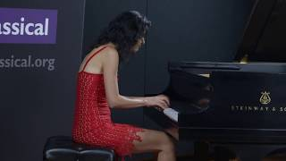 Katie Mahan plays Mozart: Prelude and Fugue in C major at CPR Classical