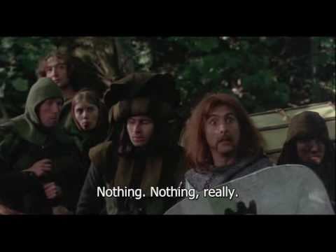 The tale of Sir Robin with subtitles (Brave Sir Robin)