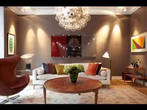 Living room paint colors ideas - YouTube