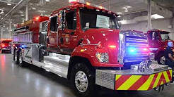 (BLUE & RED) Fire Truck South Stormont Fire Services OAFC 2018