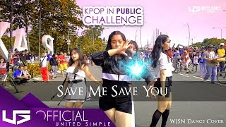 [KPOP IN PUBLIC CHALLENGE] 우주소녀 (WJSN) - 부탁해 (SAVE ME, SAVE YOU) Dance Cover by U.S.G from Indonesia