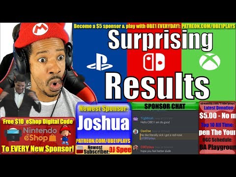 Surprising Nintendo Switch, PS4, XB1 Numbers!