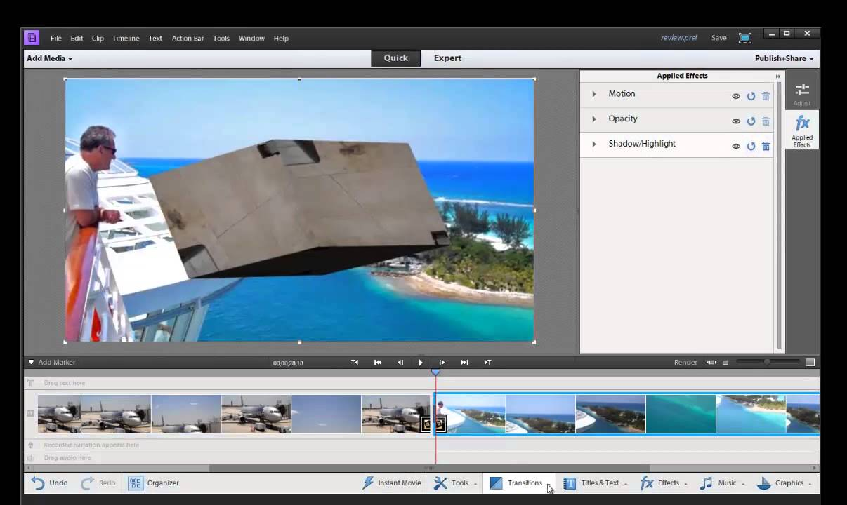 Adobe Premiere Elements 11 Review | Video Editing Software - YouTube