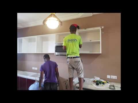 Building in Ghana Part 18 || Plumbing & Kitchen Installation ||