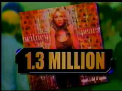 Britney breaks the record for fastest-selling album by a female artist...