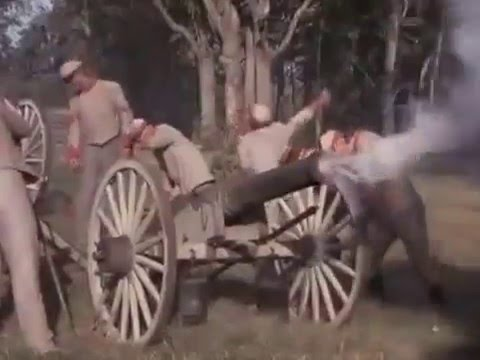 Battle of 1st ManassasBull Run  warm work at Henry House Hill