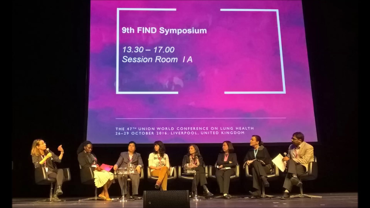 9th FIND Symposium at Union World Conference 2016 - Panel Discussion