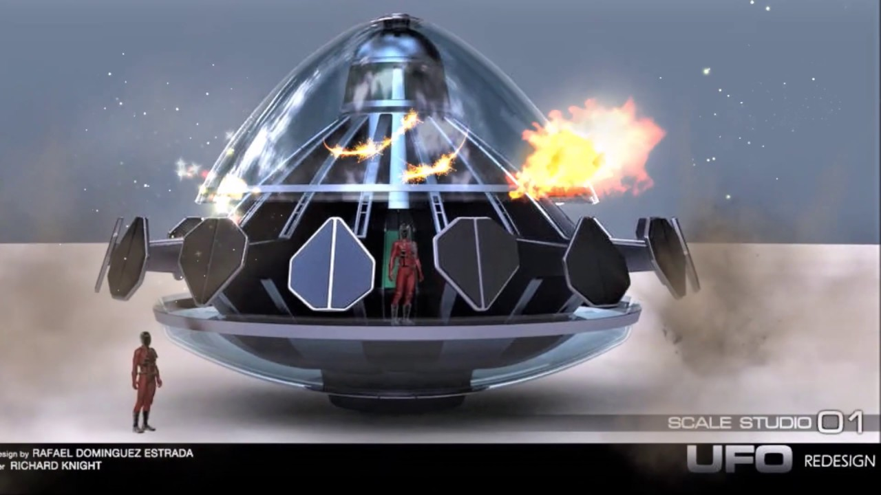 UFO 2020 (new S H A D O  theme introduction of Gerry Anderson's UFO)
