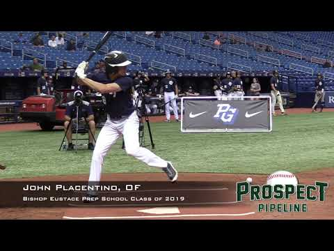 John Placentino Prospect Video, OF, Bishop Eustace Prep School Class of 2019