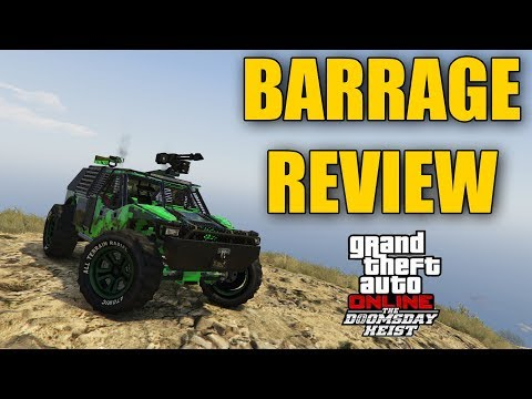 NEW DOOMSDAY HEIST CAR : BARRAGE REVIEW
