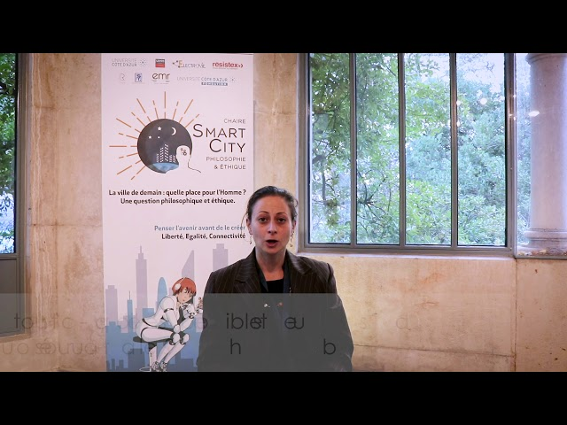 3 questions sur la Smart City - Elena Rossoni-Notter