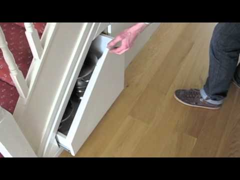 Under Stairs Storage From Www Ingrained Ie Youtube