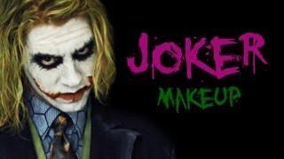 The Dark Knight - Joker Make Up