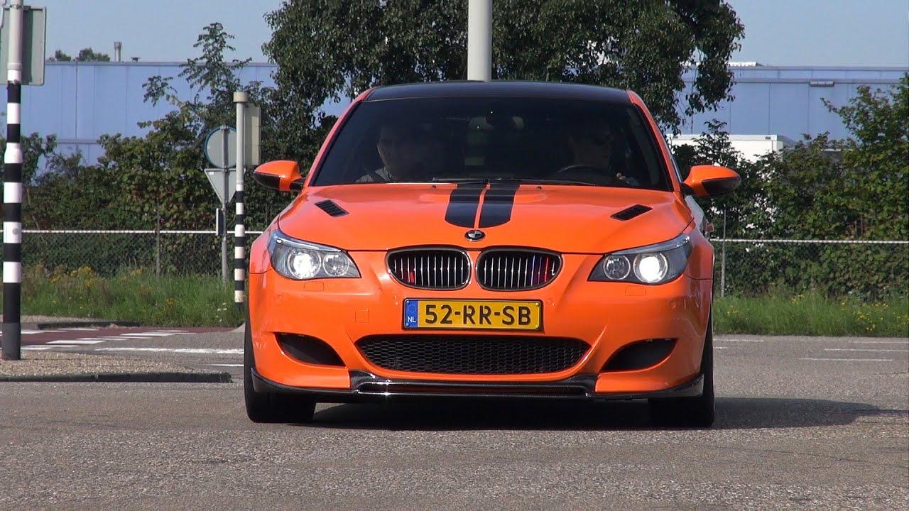 Bmw m5 v10 w eisenmann exhaust accelerations drifts more youtube
