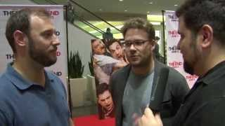 THIS IS THE END Seth Rogen And Evan Goldberg Interview At Northpark Mall In Dallas, TX