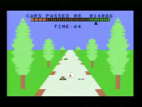 SEGA TURBO (ColecoVision) gameplay