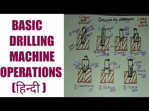 Drilling Machine Operations (हिन्दी )