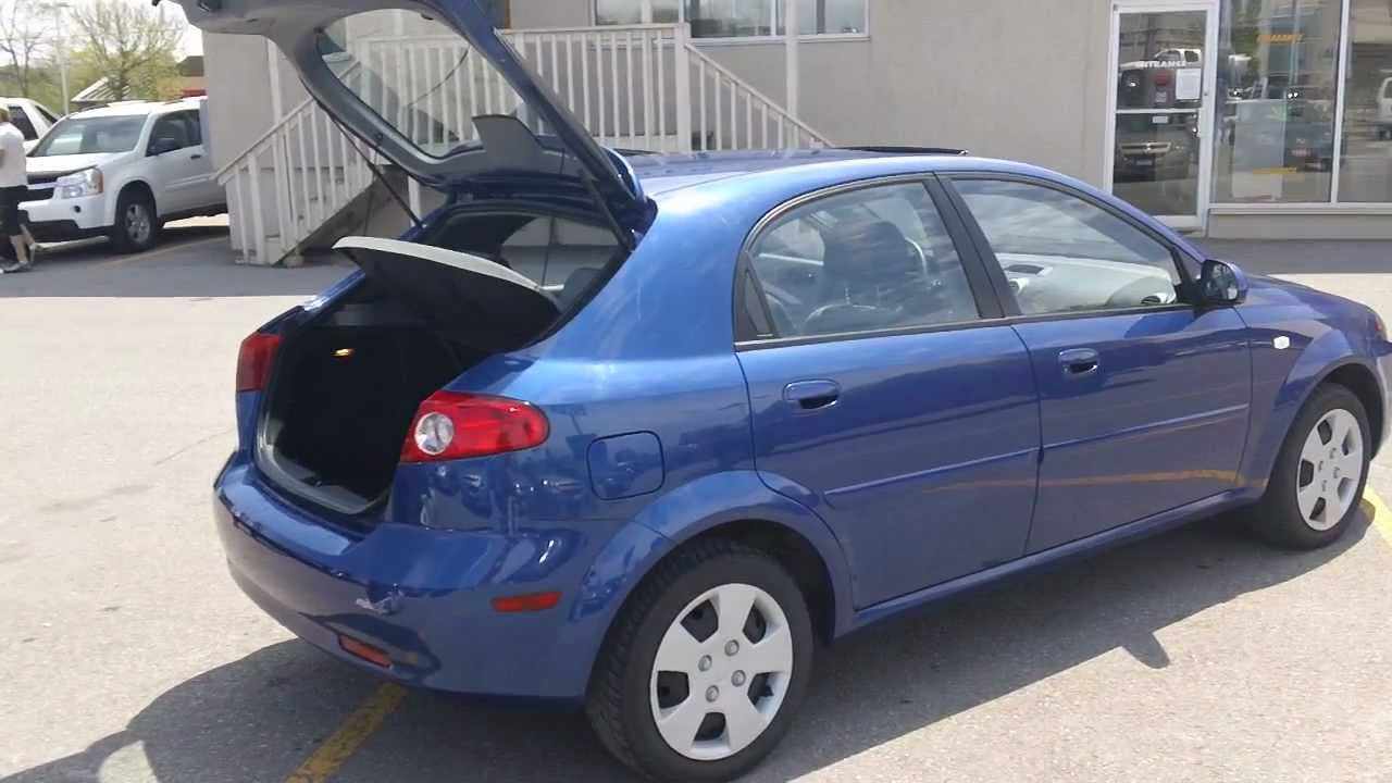 2007 Chevrolet Optra 5 LT with - YouTube