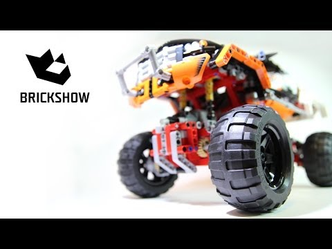 Lego Technic 9398 4x4 Crawler Build Review Youtube