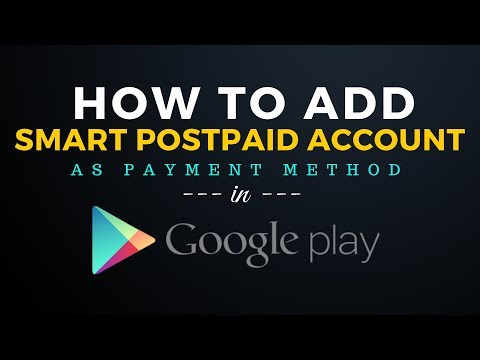 How to Add Smart Postpaid Account as Payment Method in Google Play Store