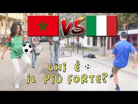 ITALIA VS MAROCCO - I MAROCCHINI e Gli ITALIANI Sanno Calciare Un Pallone? ● Interviste Ignoranti