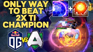 OG vs ALLIANCE - HOW TO COUNTER 2x TI CHAMPIONS - WOMBO COMBO DRAFT