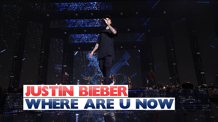 justin bieber  where are you now jingle bell ball 2015