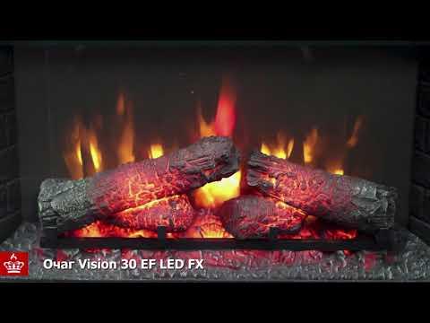 Электрический Очаг Royal Flame Vision 30 EF LED FX. Видео 1