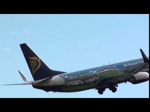 NATIONAL EXPRESS Ryanair Boeing 737-800 EI-EMI Take Off Malaga LEMG
