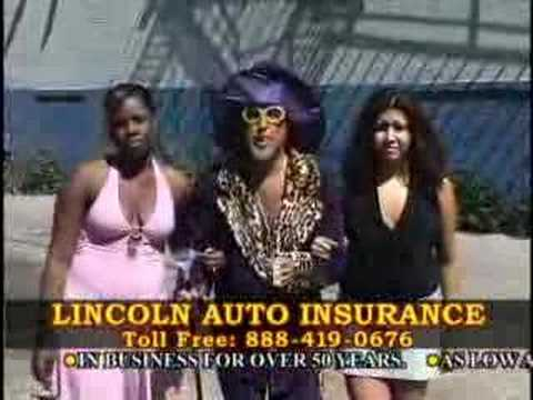 Linoln Auto Insurance Commercial Youtube