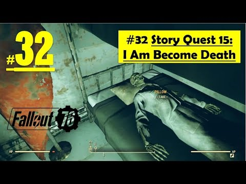 Fallout 76 - I Am Become Death | Acquire Nuclear Keycard, Launch code  encription