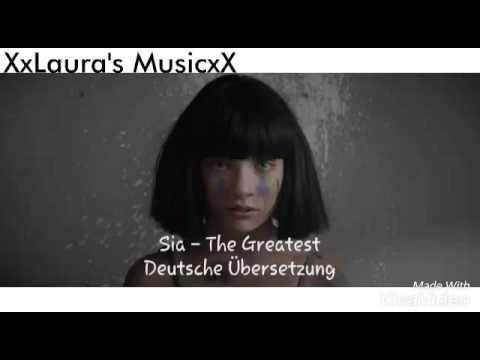 Sia - The Greatest (Deutsche Übersetzung) - YouTube