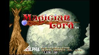 ACA NEOGEO MAGICIAN LORD (Switch eShop)- Gameplay Footage (Complete Game)