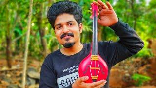 How to Make Violin With Bottles | Bottle Art | Bottle Craft | Bottle Decoration | Green Toons