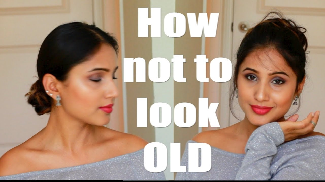 How Not To Look Old | 4 Hairstyles to make you look younger | Hair Tips and  Tricks | Sassy Shuchi