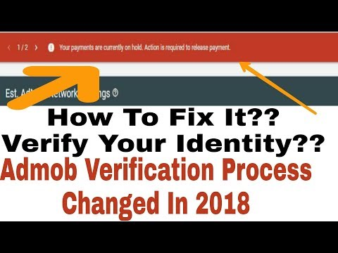 Admob Verification Process In 2018 How To Verify??