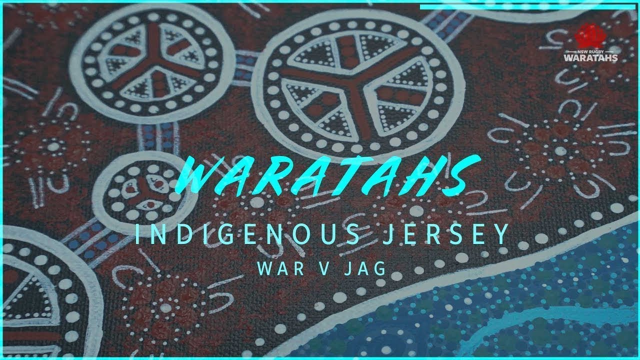 8be90a62878 NSW Waratahs - Our first ever Indigenous Jersey - YouTube