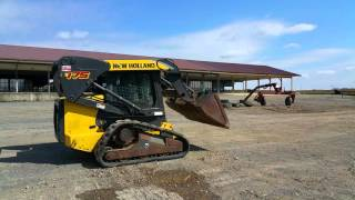 2007 New Holland C175 Compact Track Skid Loader For Sale Inspection Video!