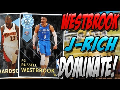 NBA 2K18 MYTEAM DIAMOND RUSSELL WESTBROOK & JASON RICHARDSON GAMEPLAY! HOW COULD THIS HAPPEN?