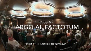 Rossini: Largo al Factotum für Klarinettenquartett