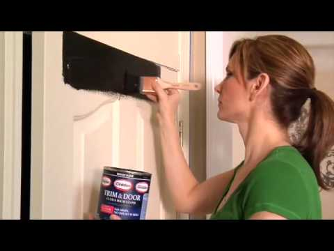 Glidden Trim Door Paint Full Video Youtube