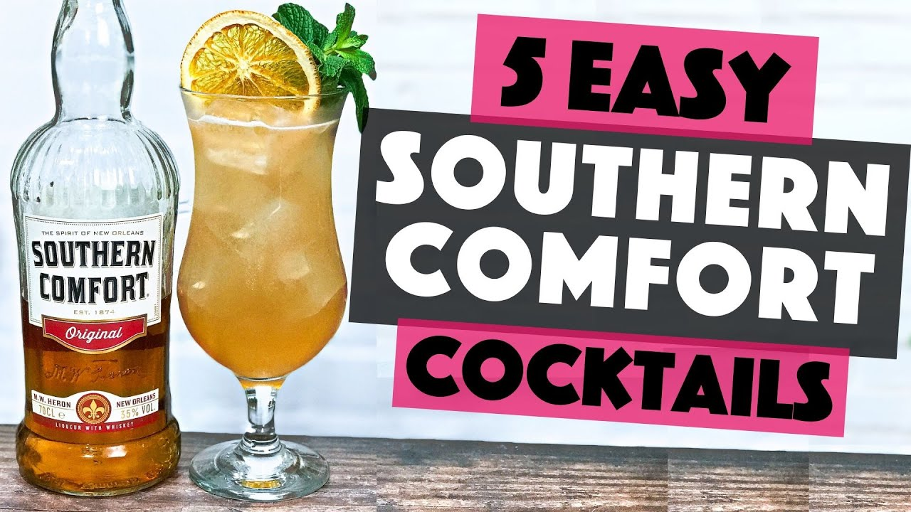 5 Easy Southern Comfort Cocktails To Make At Home Steve The Barman Youtube
