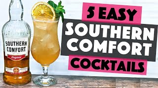 5 Easy Southern Comfort Cocktails | Easy Cocktails with Southern Comfort