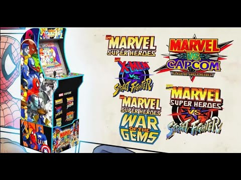 Marvel VS Capcom ARCADE1UP Unboxing + Review Part 3 from July Diaz
