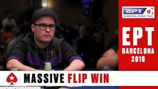 EPT BARCELONA Main Event, Day 3 (Cards-Up) - Part 2