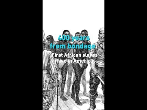 First African Slaves Arrive In Americas